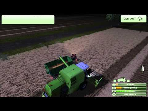 Farming Simulator 2013 - Gathering eggs, Harvesting, Sowing, Windrowing