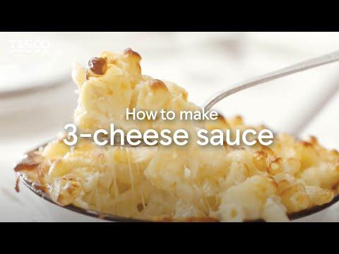How to Make Cheese Sauce Using 3 Cheeses | Tesco Food