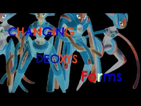 Pokémon Black 2 & White 2: Changing Deoxys Form