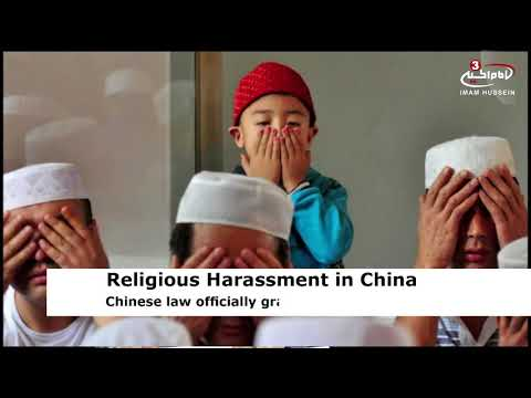 Muslim county in China bans children from religious events