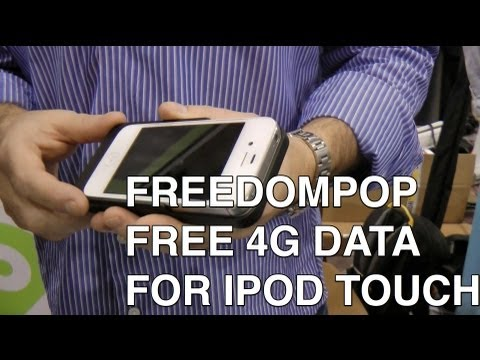 Get free 4G data with FreedomPop for iPod touch, iPhone, PC, and Mac!