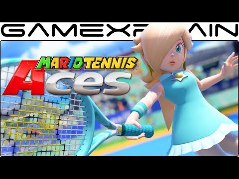 Mario Tennis Aces - Hands-On Impressions from MCM!