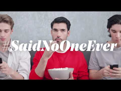 I don't spend time on social media #SaidNoOneEver - Virgin Mobile UAE