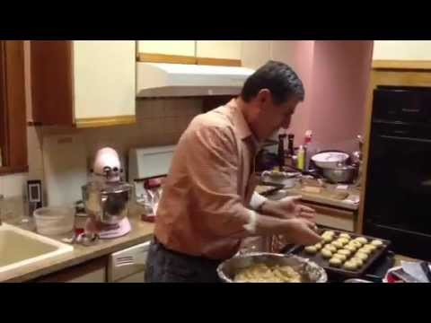 Kourambiedes, Almond Butter Cookies