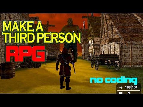 How to make a Third Person RPG Game 3D - Game Guru