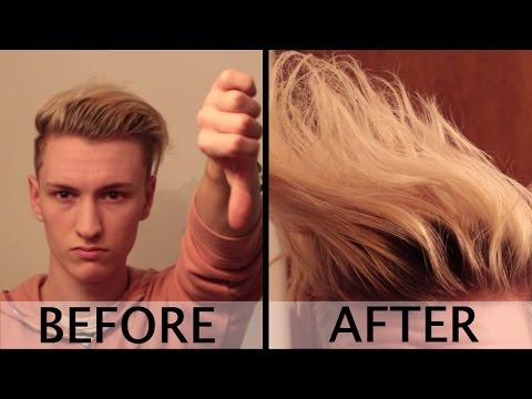 How to: Achieve MASSIVE Volume for Longer Hairstyle | Mens' Hairstyle Tips