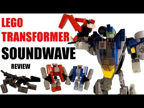 Lego Transformers - Soundwave - Review