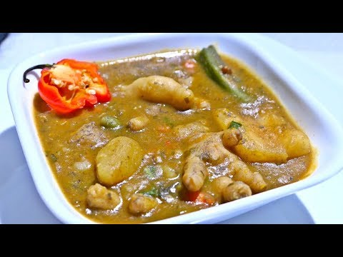 Traditional Chicken Foot Soup | Taste of Trini
