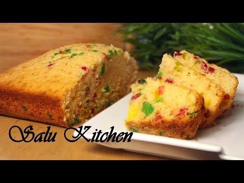 Pressure Cooker Tutti Frutti Cake