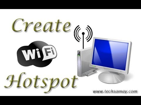 How To Make Hotspot Network In Your Computer Without Buy A Router