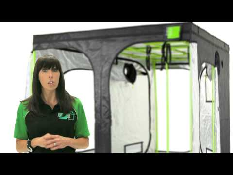 Green-Qube Grow Tent Product Tour