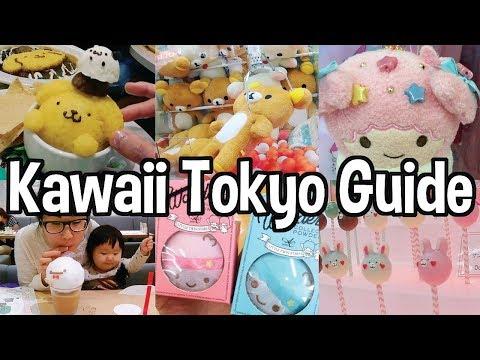 💗Kawaii Tokyo Travel Guide 2018 💜Top 10 Kawaii Things to do in Tokyo & MORE for Kawaii Lovers 😍