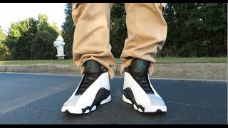 size 40 67863 199b4 JORDAN 13 RETRO  BARONS  REVIEW AND ON FEET!!!