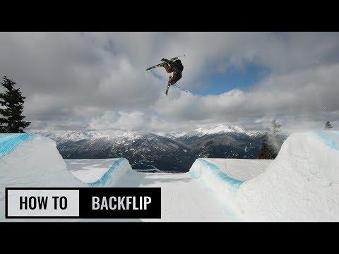 How To Backflip On Skis