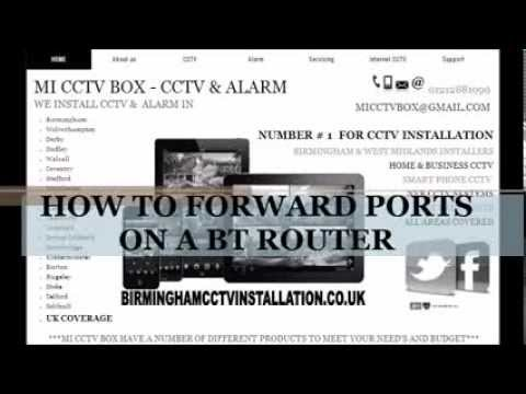 How to Port Forward BT Home Hub