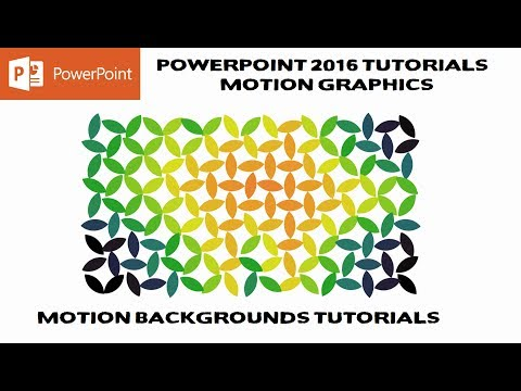 Flower of Life | Motion Graphics in PowerPoint 2016 Tutorial | The Teacher