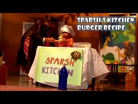 Sparsh's Kitchen Performance by 3yr old Chef Sparsh Mahajan at Ryan International School Rohini