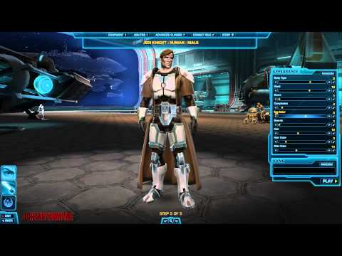 SWTOR: Jedi Knight Character Creation