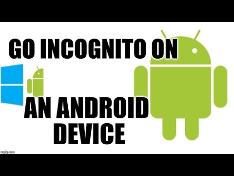376) How to enable incognito mode in android os smartphone?
