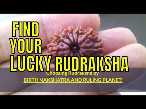 Find Your Lucky Rudraksha (Rudraksh) by Birth Nakshatra and Ruling Planet