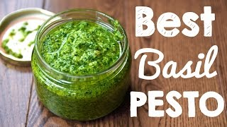 How to Make Basil Pesto | Better than Store bought!