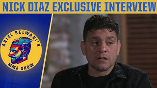 Nick Diaz exclusive: Opening up on return to the Octagon, Jorge Masvidal   Ariel Helwani's MMA Show