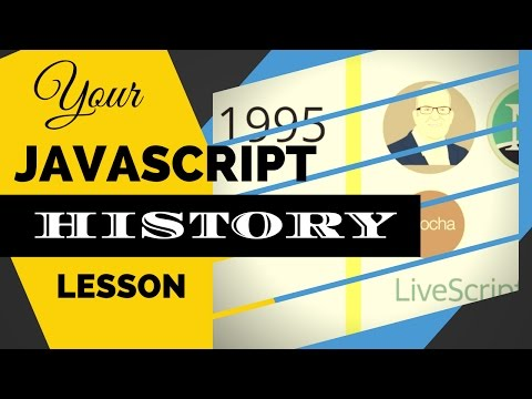 Do You Know the History of JavaScript? From Zac Gordon's JavaScript for WordPress Master Course