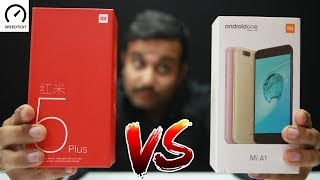 Xiaomi Redmi 5 Plus VS Xiaomi  M1A1- Speedtest & Comparison (In Hindi)
