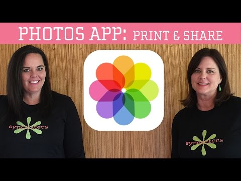 iPhone / iPad Photos App: Print & Share
