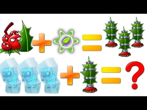 Plants vs Zombies 2 Every Plants Power UP vs Yeti and Troglobite Zombie Walkthrough PVZ 2