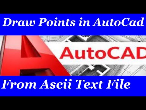 How to Import X,Y coordinates from Excel to AutoCad