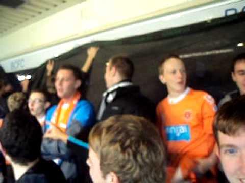 Blackpool Fans at Birmingham