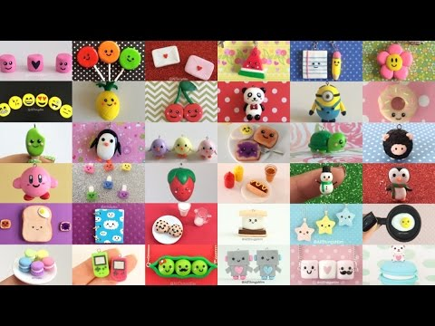 Polymer Clay Charm Compilation - 53 DIY Tutorials!