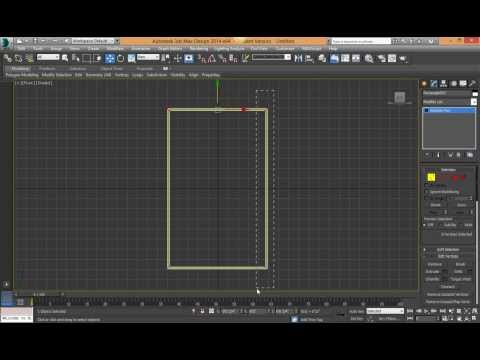 Part 1 - Making A Simple Window in 3DS Max