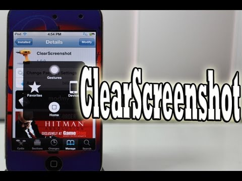 Remove Assistive Touch Button from Screenshots with 'ClearScreenshot'