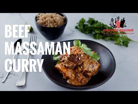 Beef Massaman Curry   Everyday Gourmet S7 E1