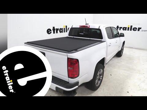 TruXedo Sentry CT Hard Tonneau Cover Installation - 2018 Chevrolet Colorado - etrailer.com