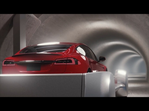 What Musk's traffic tunnels could look like