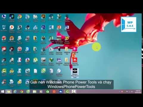 Hướng dẫn Developer Unlock và sử dụng Windows Phone Tool