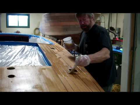 1952 Chris Craft Riviera How & Why of Bleaching at SMB 11 25 2014