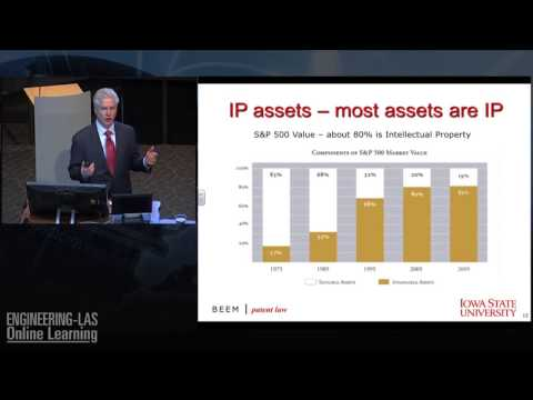 Samsung vs Apple & Intellectual Property/Patent Trends - Chicago Attorney Rich Beem at Iowa State