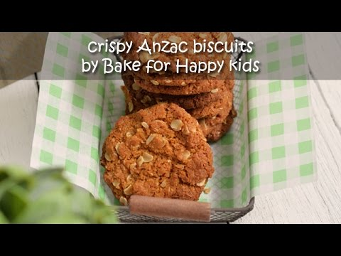 Crispy Anzac Biscuits