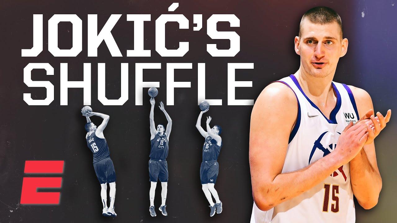 MVP Nikola Jokić's 'Sombor Shuffle' is half step-back, half fadeaway and all cash | Signature Shots