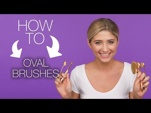 How to use oval brushes