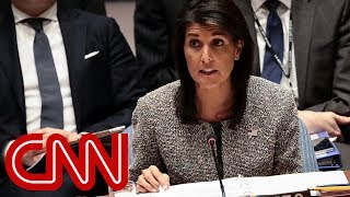 Nikki Haley explains  President Trump