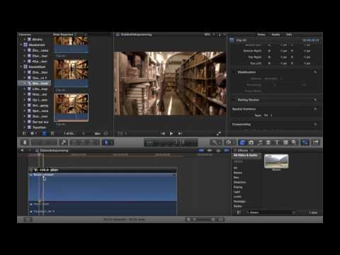 Hvordan man laver et spøgelse på film (vist i Final Cut Pro X)