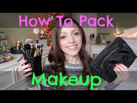 How to Pack Makeup for Travel   Airplane, Roadtrip, & More!
