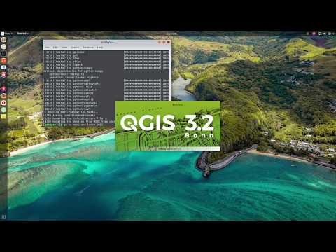 How to install QGIS on Manjaro, Arch Linux