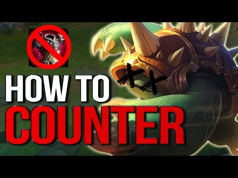 Counter: THORNMAIL, RAMMUS & TANKS - How to beat them (League of Legends)