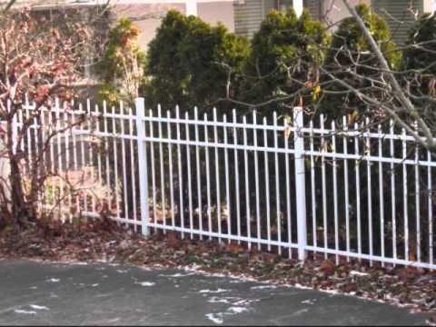 Aluminum Fence Installations